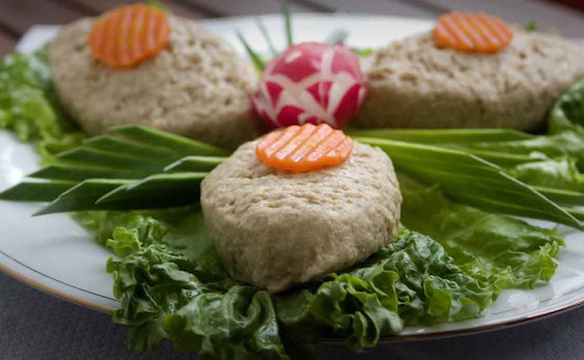 Grandma Gene's Gefilte Fish. Photo courtesy of Judy Zeidler
